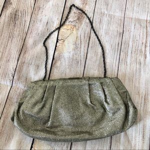 NINE WEST Glitzy Glam Sparkle Chain Strap Bag